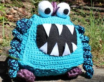 CritzBitz-Monster Alien Crochet Plushie Soft Toy