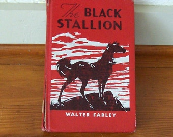 The Black Stallion by Walter Farley Vintage Edition