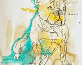 Original Sketch of a Dog,...