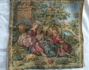 Vintage Tapestry -French