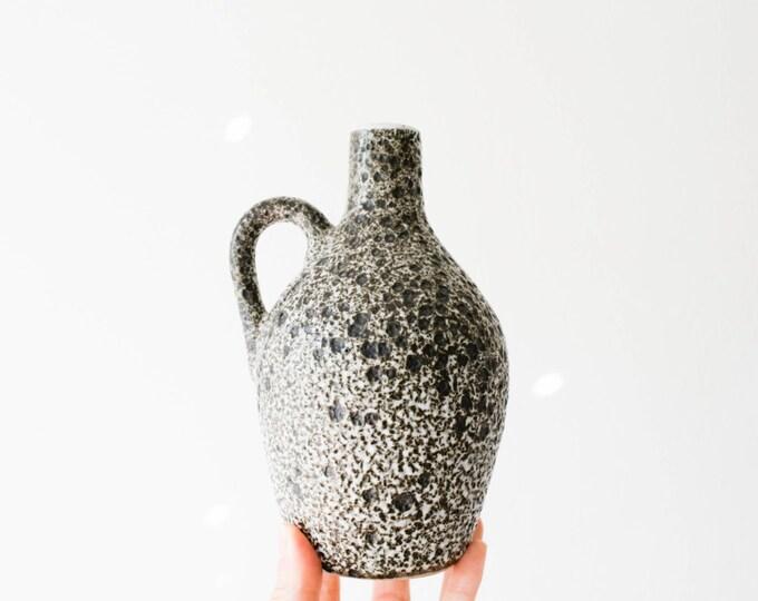 Mid Century Studio Pottery Moon Vase // Pigeon Forge Tennessee