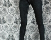 SD Clothes Black Jeggings For BJD