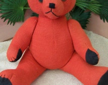 Vintage Shanghi Toy Company Toy. Bear 1950s