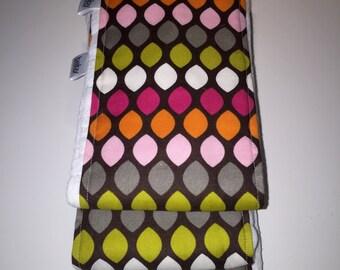 Modern Cloth Diaper Burp Cloth Set