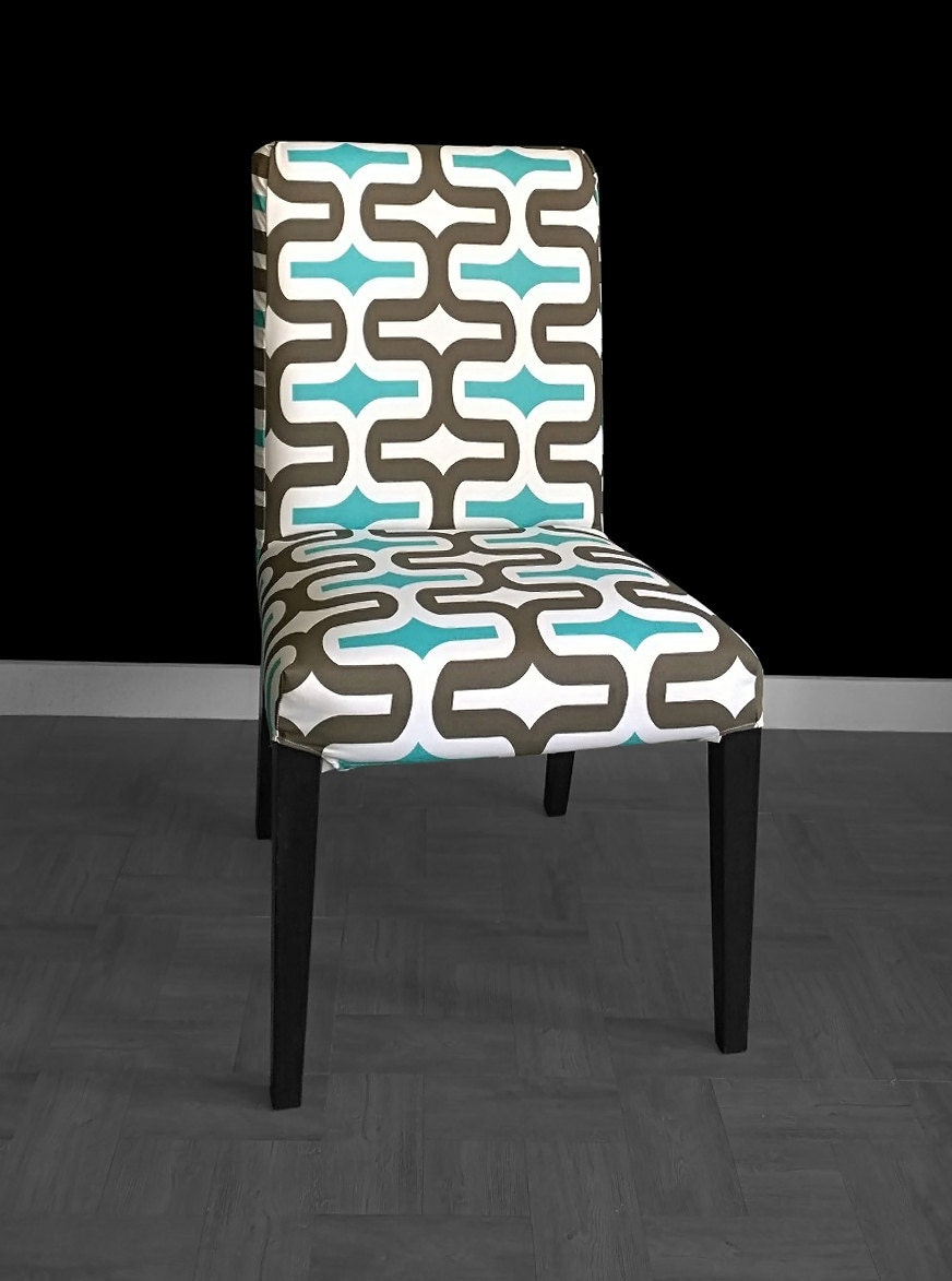 Bold Pattern IKEA HENRIKSDAL Dining Chair Cover Summerhouse : ilfullxfull1058101386qei2 from www.etsy.com size 872 x 1173 jpeg 117kB
