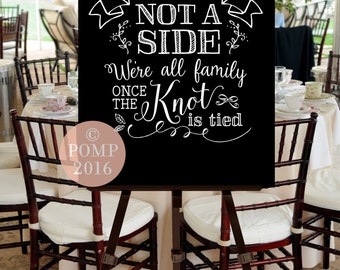 Wedding Ceremony Welcome Sign -- Digital Printable File, INSTANT DOWNLOAD, Seating, Calligraphy, Hand Drawn, Black White, Chalk
