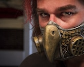 Steampunk Diesel punk Owl Gas Mask Respirator cosplay fetish Larp on Sale Now!! 25% off!!
