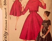"Vintage 1950s Simplicity Misses' Skirt and Jacket Pattern 3073 Size 14 (34"" Bust) UNCUT"