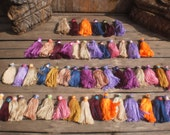 "50 Hand Made 2""inch Cotton Tassels  Mix Color"