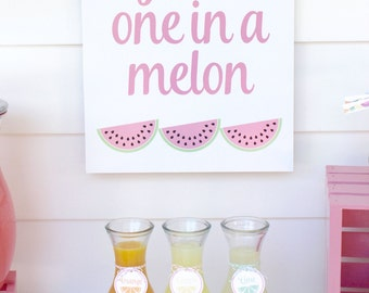 One in a Melon Feeling Fruity Poster by Bloom