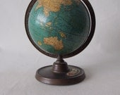 1932 Advertisment globe Gilmore Oil Co- Cram's Globe