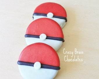 Pokemon Pokeballs Chocolate Oreos (12)