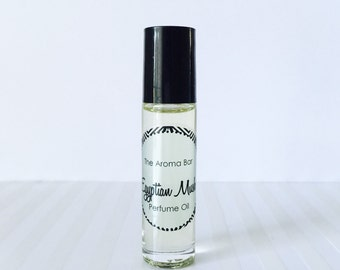 Egyptian Musk Perfume Oil Rollerball- Complementary Body Frosting and Perfume Oil sample of your choice included!