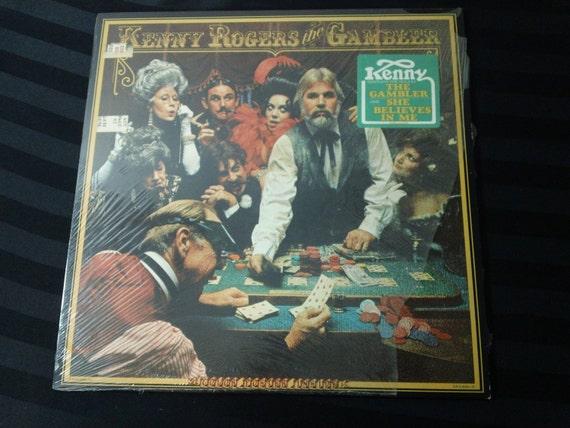 Kenny Rogers The Gambler Ua La934 H 12 Vinyl Lp