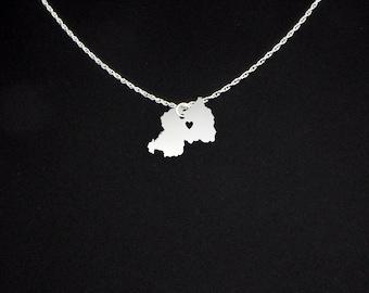Rwanda Necklace - Rwanda Jewelry - Rwanda Gift