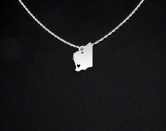 Western Australia Necklace - Western Australia Jewelry - Western Australia Gift