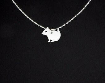 Chipmunk Necklace - Chipmunk Jewelry - Chipmunk Gift