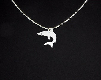 Great White Shark Necklace - Great White Shark Jewelry - Great White Shark Gift