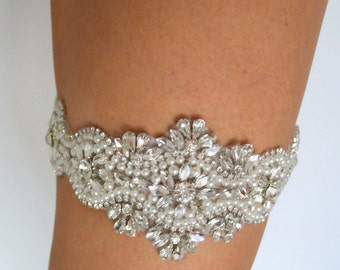 SALE I Do Bridal Garter