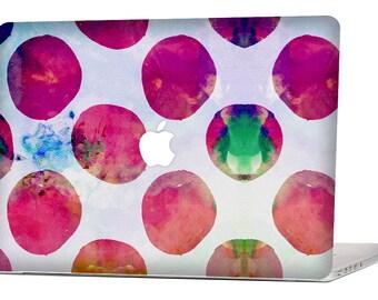 RED WATERCOLOR  MacBook Decal Macbook Stickers Macbook Skin Macbook Case Macbook Pro Cover Laptop Stickers Laptop Skin Laptop Decal Case