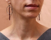 Crimson Light earrings