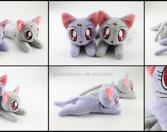 Diana (Sailor Moon) beanie style plushie - made to order