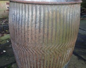 Dolly tub, wash tub, large plant pot, plant container