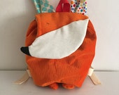 Toddler backpack - The fox