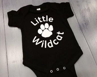 Little Wildcat 6-Month Infant Onesie