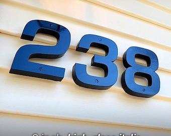 GARDENmarx 6 inch high-gloss italic address numbers