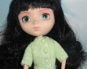 Fashion Doll Short Sleeved Cardigan
