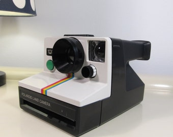 Polaroid Camera 1000 Rainbow Land Camera SX-70 type instant film