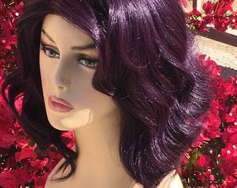Descendants Mal Purple Professional Lace Front Wig