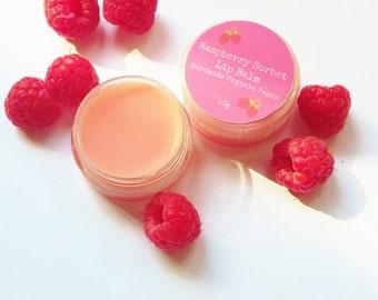 Raspberry Sorbet Moisturising Natural Lip Balm