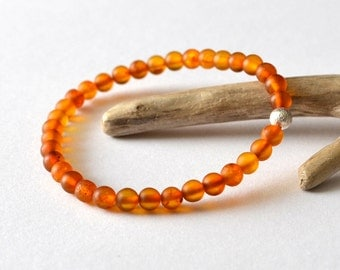 Baltic Amber Bracelet, Natural Amber Bracelet, Amber Jewelry, Amber and Silver