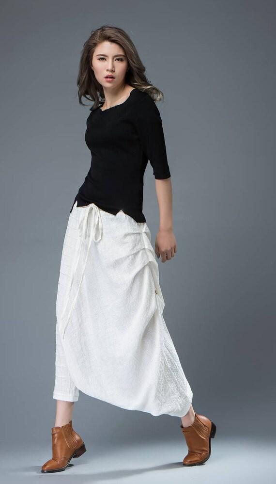 Brilliant Caralase White LinenBlend Pants  Women  Zulily