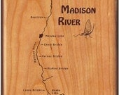 River Map Fly Box-MADISON...