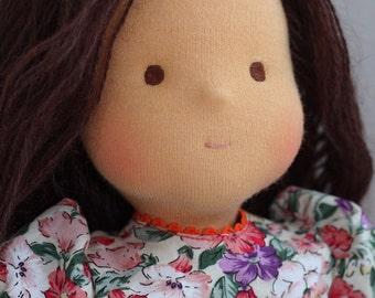 Waldorf doll -Varenka -15 inches, custom dolls for children , daughter of a gift