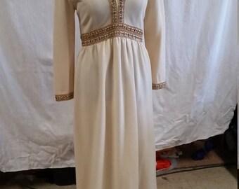 elegant 1970s party dress