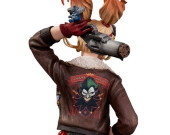 Harley Quinn Bombshell jacket cosplay custom made costume