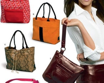 New Look 6425 Misses' Set of Bags, Purses and Totes