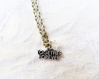 Together Forever Necklace / 2 Styles / Listing for 1 / women's jewelry / men's jewelry / women / men / teen jewelry / girls / jewelry