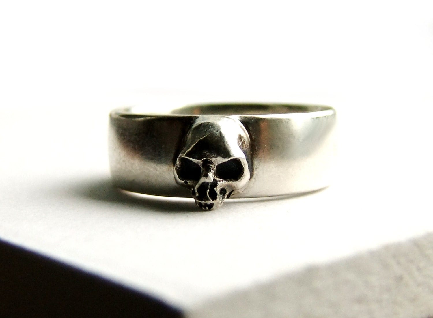 skull wedding ring grooms skull ring mens skull wedding rings Skull Wedding Ring Grooms Skull Ring Goth Groom Ring Skull Wedding Pair Small Mens Skull Ring Psychobilly Wedding Band Wedding Set All Sizes