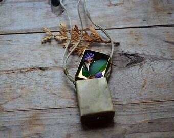 Brass Locket Box, Metal Matchbox