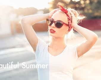 Beautiful Summer - Lightroom Preset INSTANT DOWNLOAD