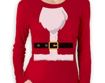 Santa Suit - Funny Christmas - Women's Long Sleeve T-Shirt