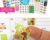 """Planner Addict? 432 Event & Appointment Stickers for any planner or calendar! Actual size 3/4"""" x 3/4"""" [10 pks of 432 stickers] [Item #2003]"""