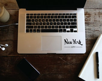 New York City Laptop decal stickers for tumblers and mobiles, New York vinyl laptop stickers, Wall decal for walls and cars, iPad decal