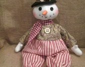 Prim Wishes Snowman