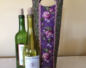 Wine Tote - Wine Tote Bag - Wine Tote in Handmade - Wine Bottle Gift Bag - Wine Gift Bags - Wine Bottle Bags - Wine Bottle Holder - Gift Bag